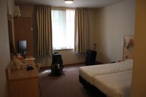 Hotelzimmer bei Travelodge