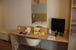 Schreibtisch bei Travelodge